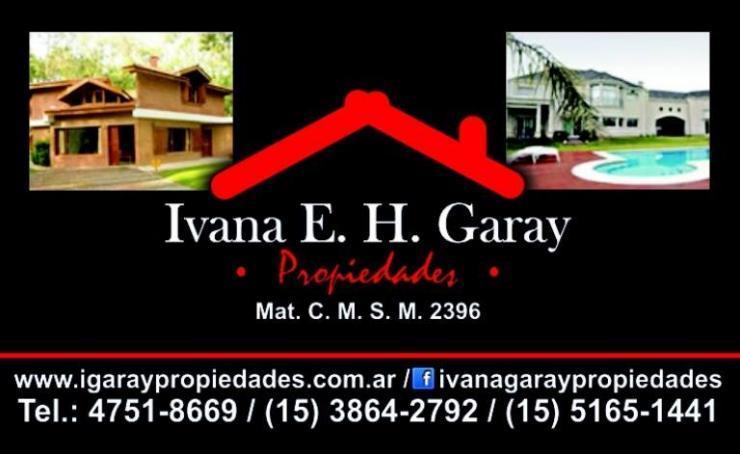 Ivana e h garay propiedades en tres de febrero tel fono for Alquileres en ciudad jardin lomas del palomar