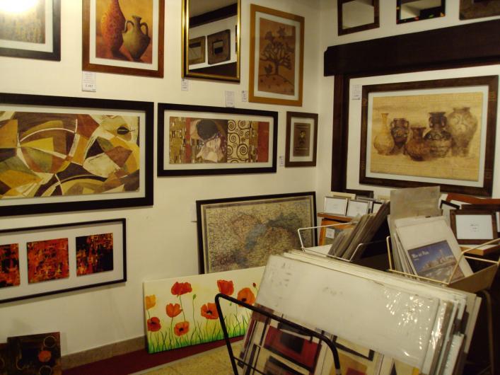 Angelus cuadros enmarcado de cuadros l minas y espejos en for Laminas para pared