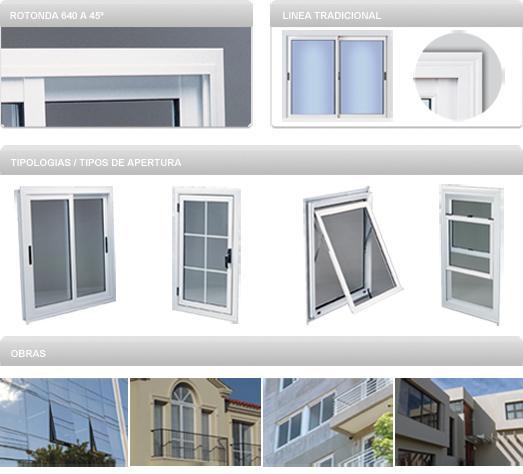 Aberturas y cerramientos de aluminio mosquiteros en la for Fabrica de aberturas de aluminio