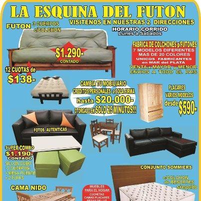 La esquina del futon fabrica de futones y colchones en mar for Imagenes de futones