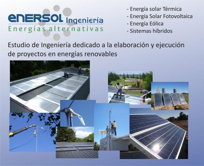 Enersol Ingenieria Energ 237 As Alternativas En La Plata