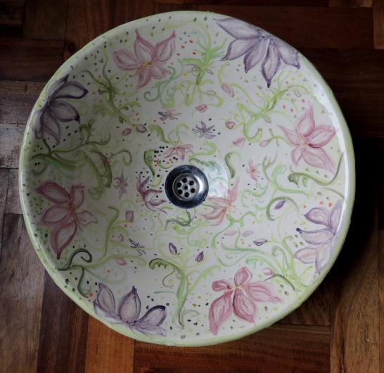 Bachas Para Baño En Vitrofusion: de Ceramicaenarte-vajilla exclusiva en diseño, objetos únicos para