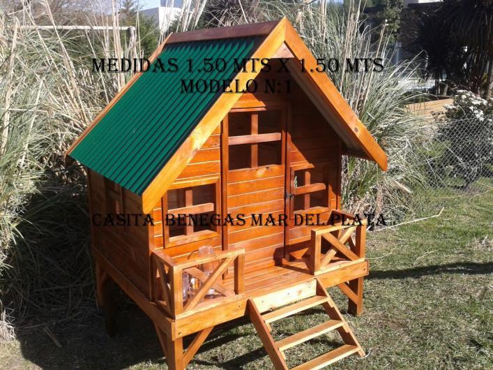 Casitas para ni os en madera fabrica casita de madera para - Casetas de madera infantiles ...