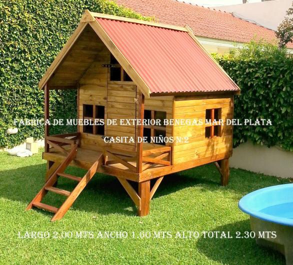 Casitas para ni os en madera fabrica casita de madera para for Casitas de jardin para ninos