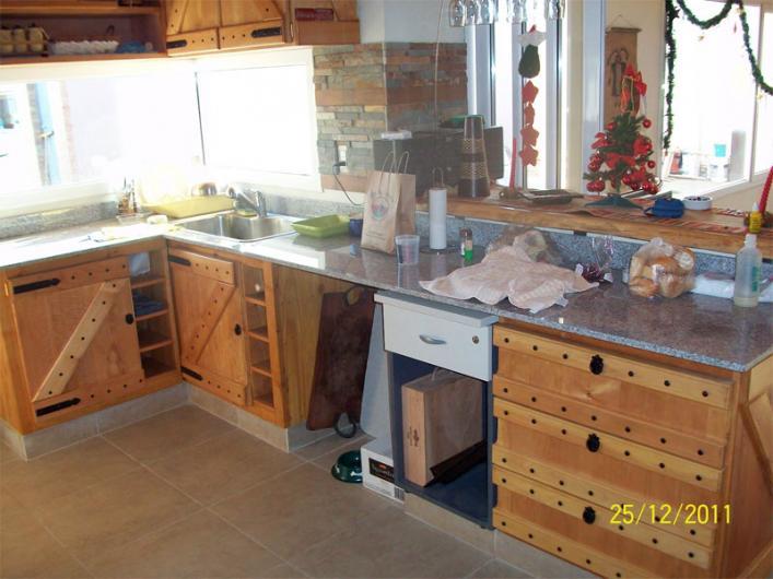 Carpinteria patagonia artesanal sillones rusticos en el for Sillones para cocina