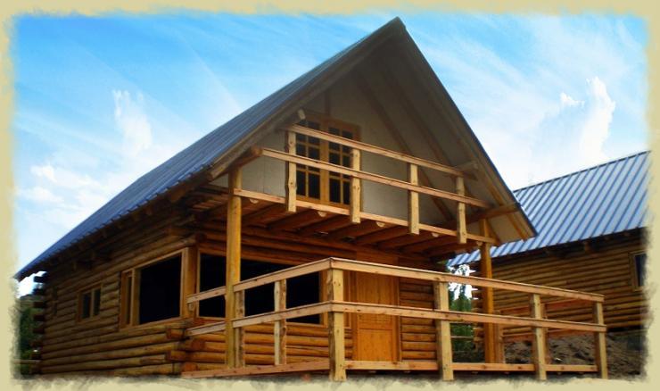 Log home modulos habitacionales casas de madera caba as - Modulos de casas ...