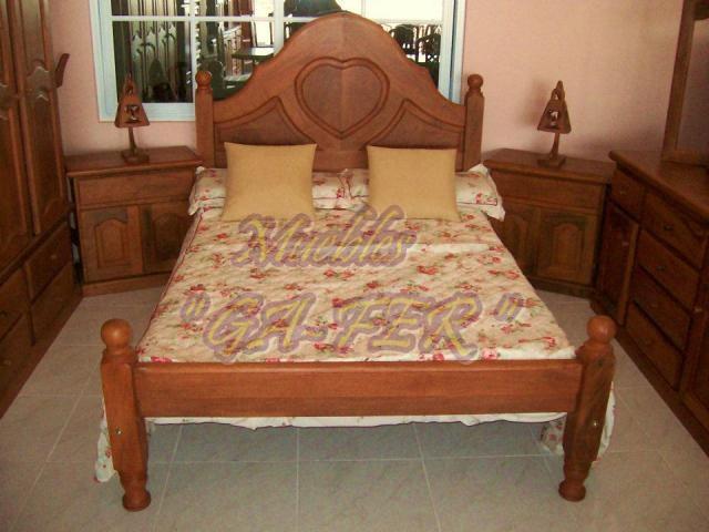 Muebles de algarrobo al mejor precio en machagai tel fono for Sofas al mejor precio