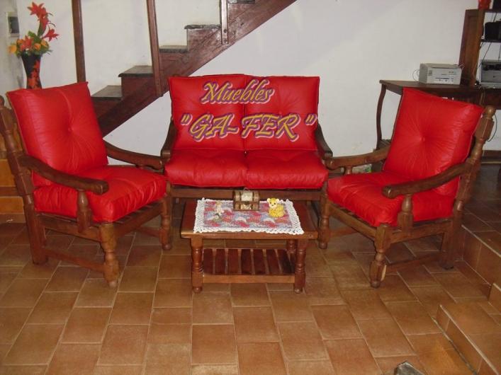 Muebles de algarrobo al mejor precio en machagai tel fono for Mueble de algarrobo para living