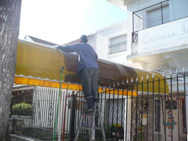 limpieza y reparacion de toldos en avellaneda tel fono y