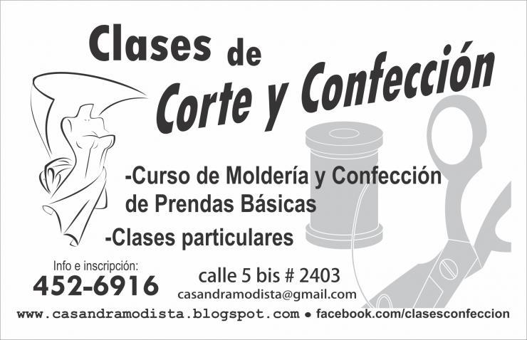 daf9984eaa75 Curso de Corte y Confeccion en La Plata. Teléfono y más info.