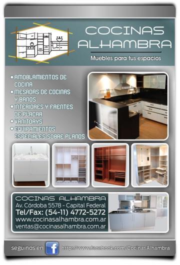 Cocinas alhambra en capital federal tel fono y m s info for Muebles de cocina en cordoba capital