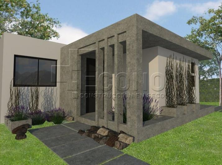 Casas Prefabricadas Madera Durlock En Mendoza