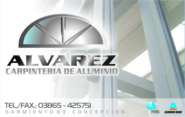 Carpinter a de aluminio alvarez en concepci n tel fono y for Carpinterias de aluminio en argentina