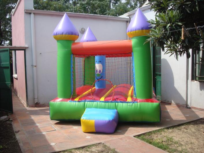 alquiler de castillos inflables metegoles plazas blandas