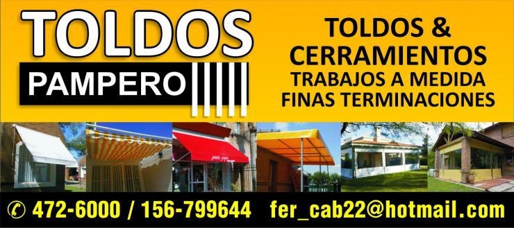 Toldos pampero en cordoba tel fono y m s info for Colocacion de toldos