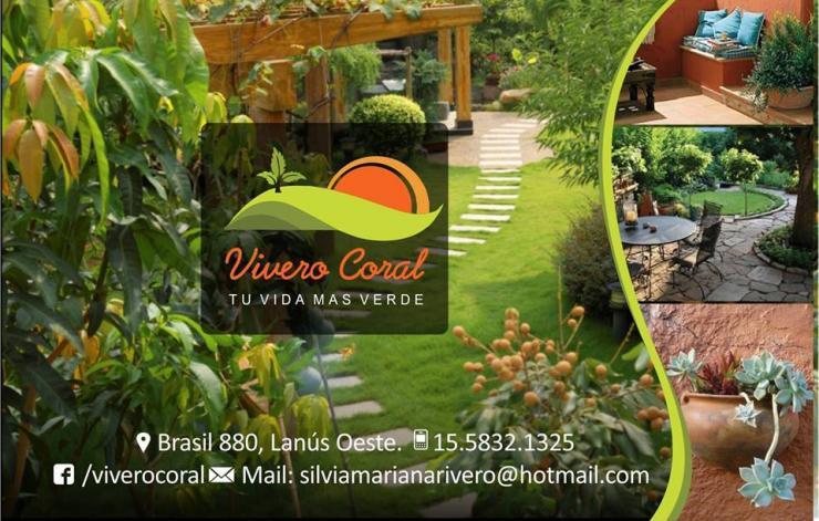 Vivero coral paisajismo en lanus oeste tel fono y m s info for Viveros en escobar