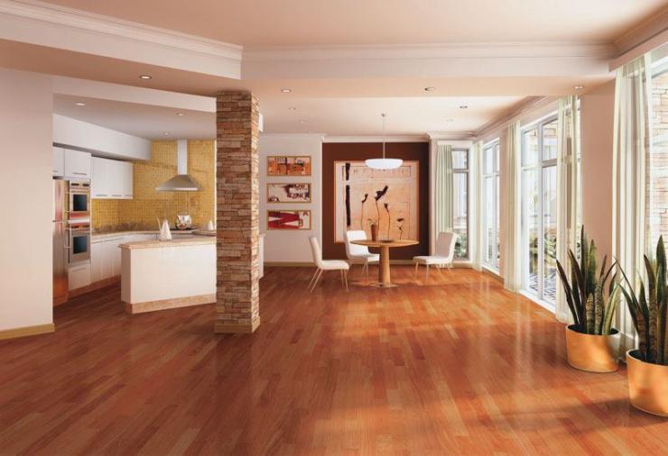 Gs construccion en seco y pisos flotantes en jun n for Pisos de ceramica para cocina comedor