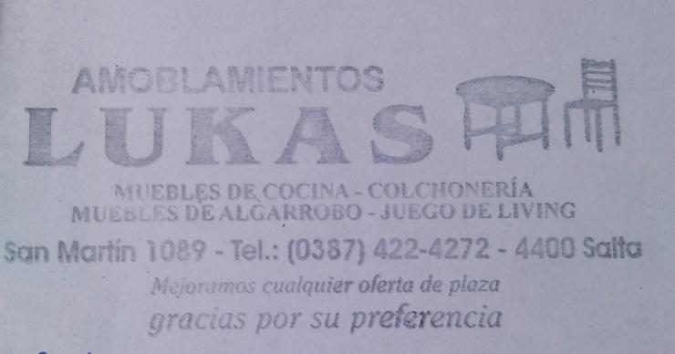 Lukas amoblamientos en salta tel fono y m s info for Amoblamientos living