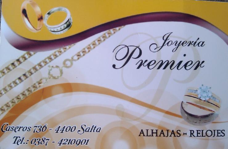 cb8eecede066 Joyería Premier en Salta. Teléfono y más info.