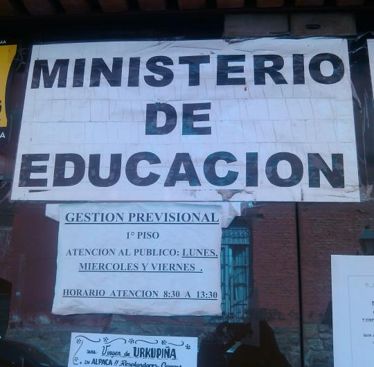 Ministerio de educaci n en salta tel fono y m s info for Ministerio de seguridad telefonos internos