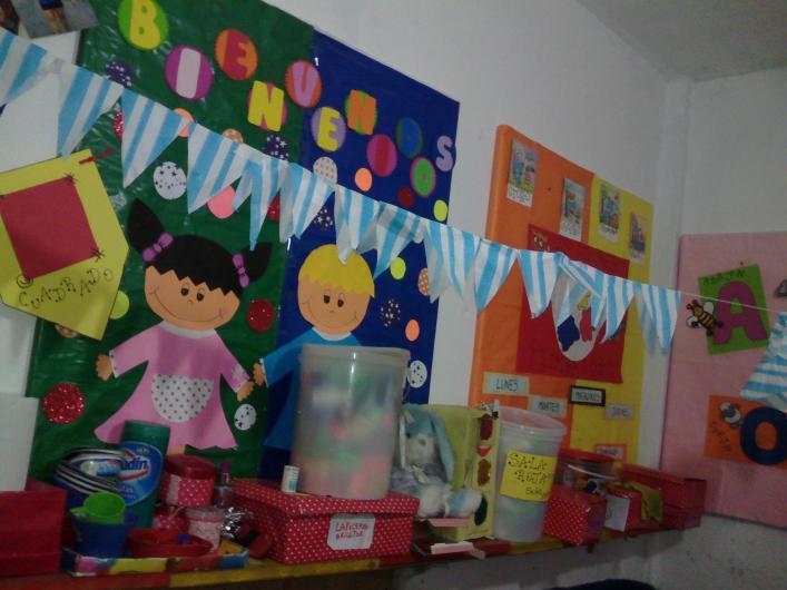 Jardin de infantes burbujitas de colores en rafael for Canciones de jardin de infantes argentina
