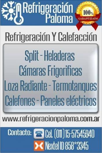Refrigeraci N Y Calefacci N Paloma En Loma Hermosa