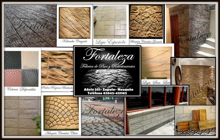 Fortaleza f brica de pisos y revestimientos en zapala for Fabrica de pisos