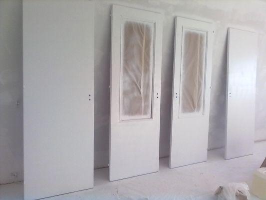 Alejandro pinturas e impermeabilizaciones en humberto - Como pintar una puerta de blanco ...