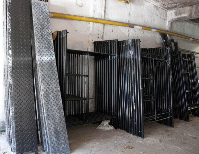 Alquiler de andamios tubular y escalera zona norte en - Alquiler de escaleras ...