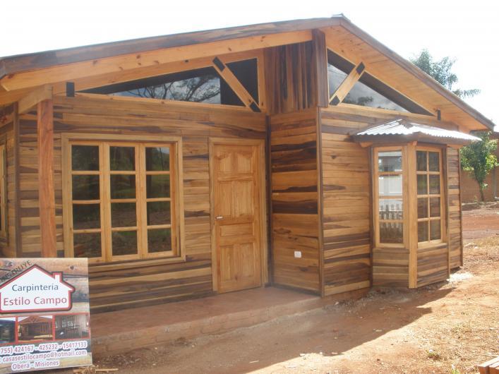Casas estilo campo en ober tel fono y m s info for Estilos de viviendas