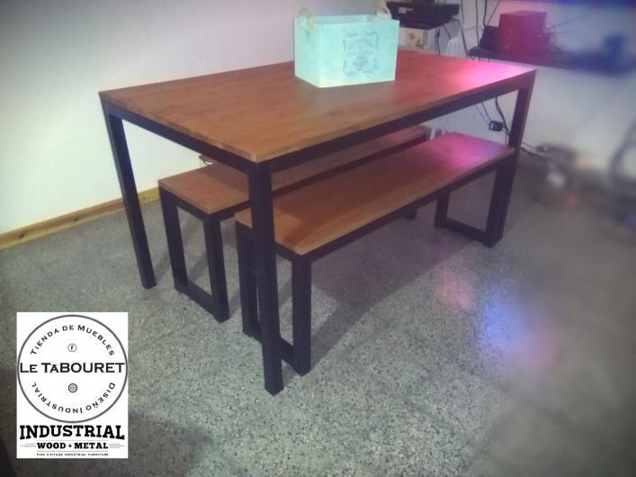 Le tabouret tienda de muebles industriales en lanus oeste for Muebles industriales