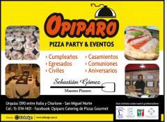 Opiparo pizza party pata asadas en san miguel tel fono for Pata pizza salon de provence