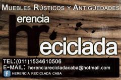 Herencia reciclada caba en san cristobal tel fono y m s info - Muebles herencia ...